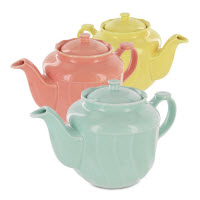 Light, bright colors are a good change after the dark colors of Winter! (Photo source: The English Tea Store)