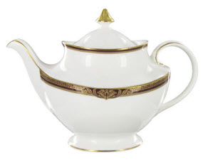 Even Emperor Joseph II of Austria would have opted for tea when served from this regal teapot. (Photo source: The English Tea Store)