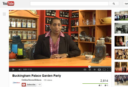 Tea blogging in video form is becoming more popular. (Photo source: The English Tea Store)