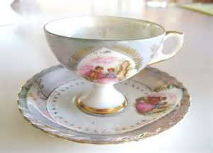 Vintage Tea Cup and Saucer by FrancesAttic on Etsy (Photo source: Yahoo! Images)