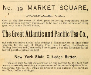 Well, at least tea was the first item named. (Photo source: Wikipedia)
