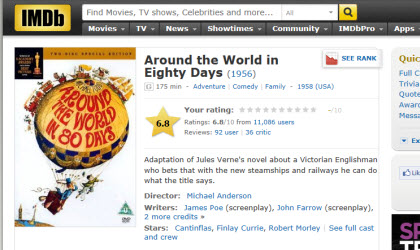 Around the World in 80 Days (Photo source: screen capture from site)