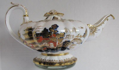 C.J. Mason Bone China Teapot, Aladdin style (Photo source: screen capture from site)