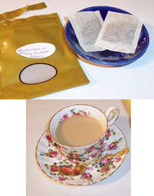 Buckingham Palace Garden Party tea (Photo source: A.C. Cargill, all rights reserved)