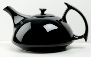 Athena Teapot Black