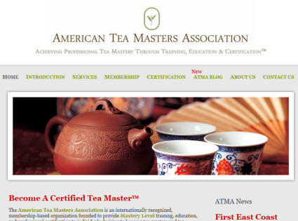 ATMA Tea Sommelier Classes (screen capture from site)