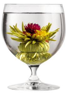 Flowering Tiffany Rose Melody Green Tea - naturally good? (ETS image)