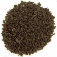 Tightly rolled gunpowder tea pellets (ETS image)