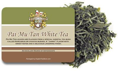 Pai Mu Tan, Bai Mu Dan, or White Peony? Tea name confusion. (ETS image)