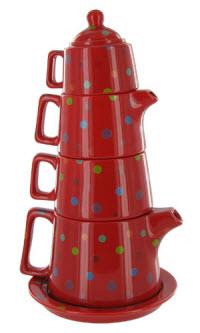 Polka Dot Tea Tower Set (ETS image)