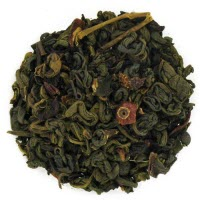 Pomegranate Hibiscus Flavored Green Tea (ETS image)