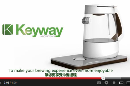 Leaf from Keyway Innovations seeks funding through Indiegogo website. (screen capture from PR video)