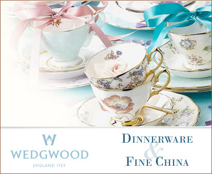 Wedgwood Dinnerware and Fine China make any tea taste great! (ETS image)