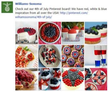 Williams-Sonoma Pinterest images