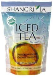 Iced Tea by Shangri La Spring Melon Green Brew BagsA