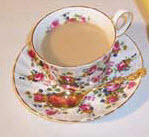 Buckingham Palace Garden Party Loose Leaf Tea (photo by A.C. Cargill, all rights reserved)