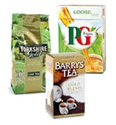 Lots of your fave British tea brands are waiting for you! (ETS image)