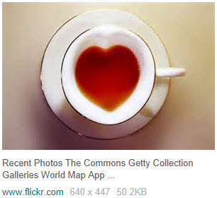 Heart-shaped teacup has been seen around a lot online. (Yahoo! Images)