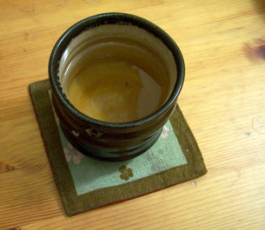 Spring Pouchong in the cup (photo by Elise Nuding, all rights reserved)