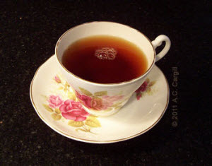 A cuppa Sylvakandy Estate is a drug I can really like. (Photo by A.C. Cargill, all rights reserved)