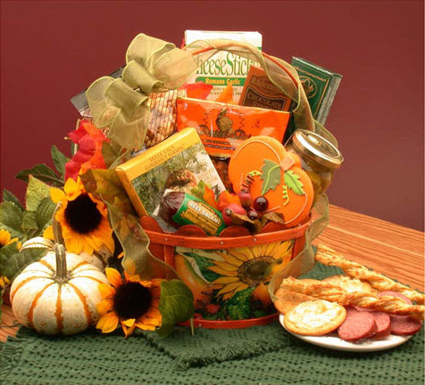 Fall Harvest Snacker Gift Basket (ETS image)