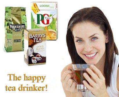 Happy Tea Drinker (ETS image)