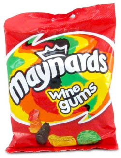 Non-alcoholic Maynards Winegums are chewy enough to relax you. (ETS image)