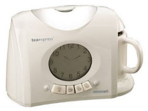 Micromark Tea Express with Alarm Clock (Screen capture from site)