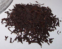 Ceylon Black Tea after processing and ready for market (Photo by A.C. Cargill, all rights reserved)