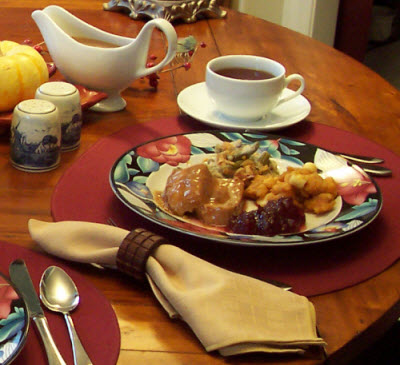 Your feast is not complete without the proper tea! (Photo by A.C. Cargill, all rights reserved)