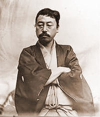 Okakura Kakuzō in 1898 (Wikipedia image)