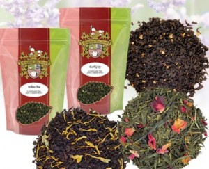 Lots of types of tempting teas! (ETS image)