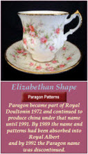 Royal Albert Elizabethan Shape