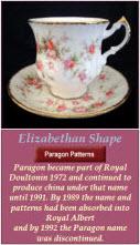 Royal Albert Elizabethan Shape