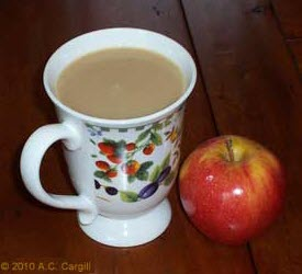 "Forget that ""apple a day"" and go for that cuppa tea to cure what ails ya! (From Yahoo! Images)"