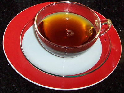 Golden Heaven Yunnan China Black Tea (Photo by A.C. Cargill, all rights reserved)