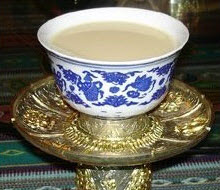 Tibetan Yak butter tea (Screen capture from site)