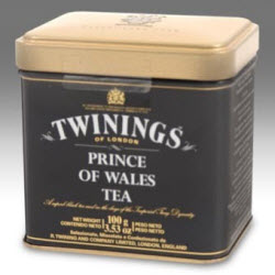 Twinings Prince of Wales Loose Tea Tin