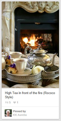 High Tea Rococo Style from KK Aurelia on Pinterest