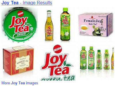 Joy teas (From Yahoo! Images)