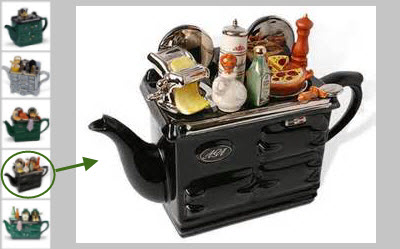 Kitchen Stove Teapots (Via Yahoo! Images)