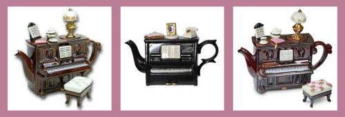 Piano Teapots (Via Yahoo! Images)