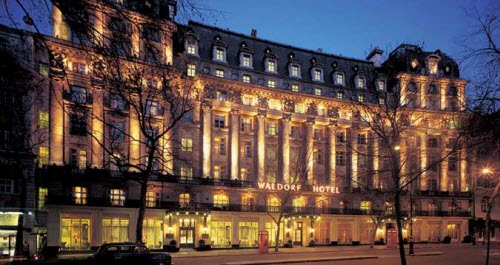 The Waldorf Hilton in London (screen capture from site)