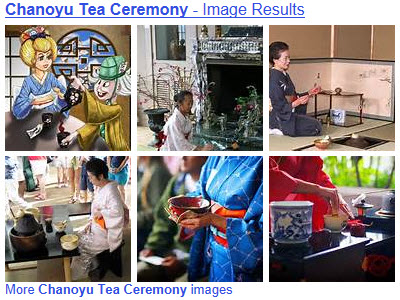 Full of beauty, grace, and tradition, the Chanoyu Tea Ceremony is great to experience at least once in your lifetime! (From Yahoo! Images)
