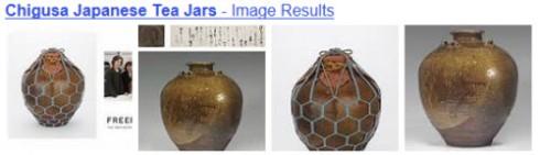 Chigusa Japanese Tea Jars (Image via Yahoo! Images)