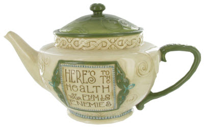 Irish Teapot - Heres to Health (ETS image)
