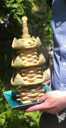 Japanese Tea Tower by Howard Middleton (screen capture from site)