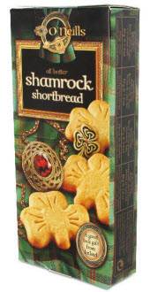 O'Neill's shamrock shortbread (ETS image)