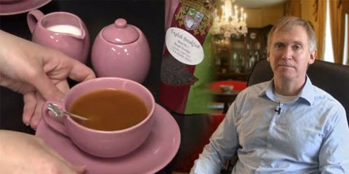 Scenes from one of ETS's videos on tea - How to Make the Perfect Cup!