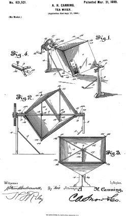 Tea Mixer Patent Image (screen capture from site)